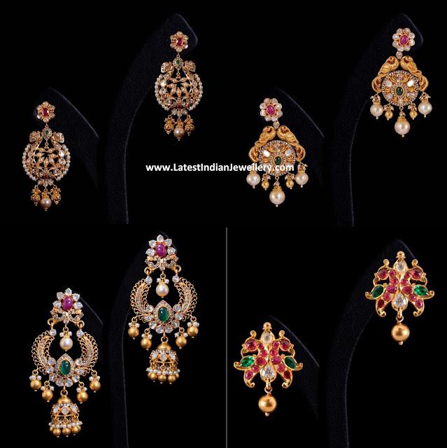 Vummidi Peacock Earrings