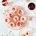 Blood orange cake donuts