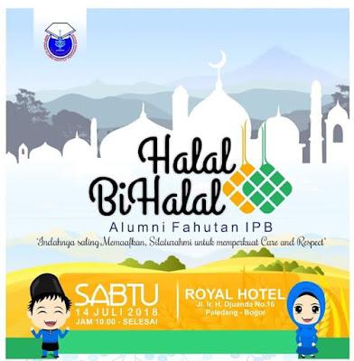 Leaflet Halal Bil Halal HA-E IPB 2018