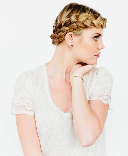 Fransız Saç Örgüsü Modeli
