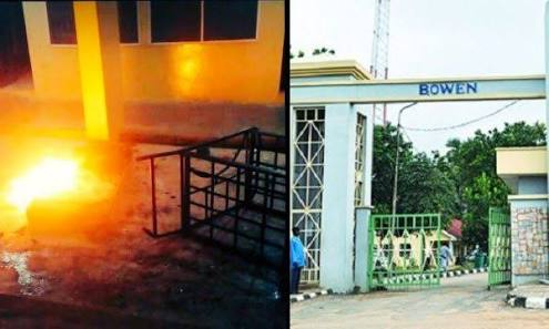 Bowen Students Burn Down Hostel As School Suspends Over 200 Students