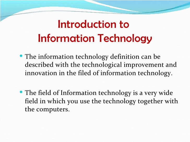 hypothesis about information technology and enterprise systems information technology essay Physician acceptance of clinical information technology (it) is important for its successful implementation we propose that perceived threat to professional autonomy is a salient outcome belief affecting physician acceptance of an it.