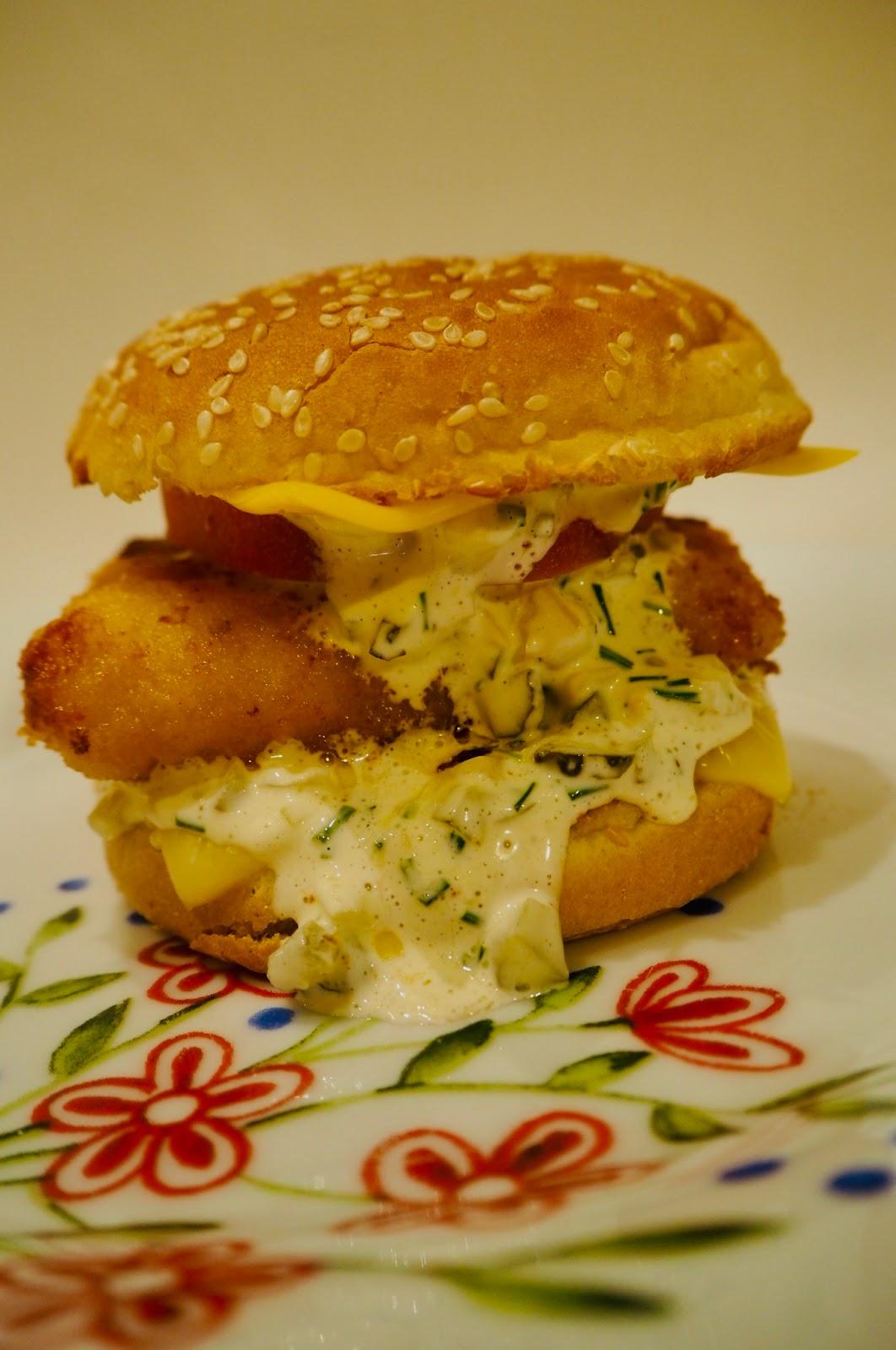 Fishburger  - łatwy przepis