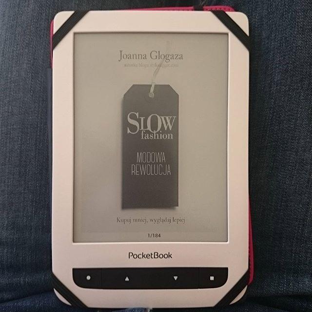 Czytnik ebook Pocketbook, książka Slow Fashion