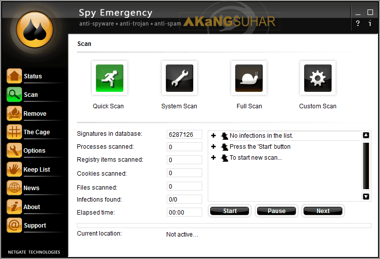 Download NETGATE Spy Emergency 24.0.150.0 Full Version Terbaru