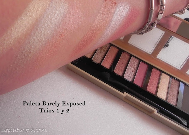 Paleta Barely Exposed Swatches 01