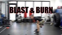 Blast and Burn Workout Dumbells Coach Rollie Pasadena