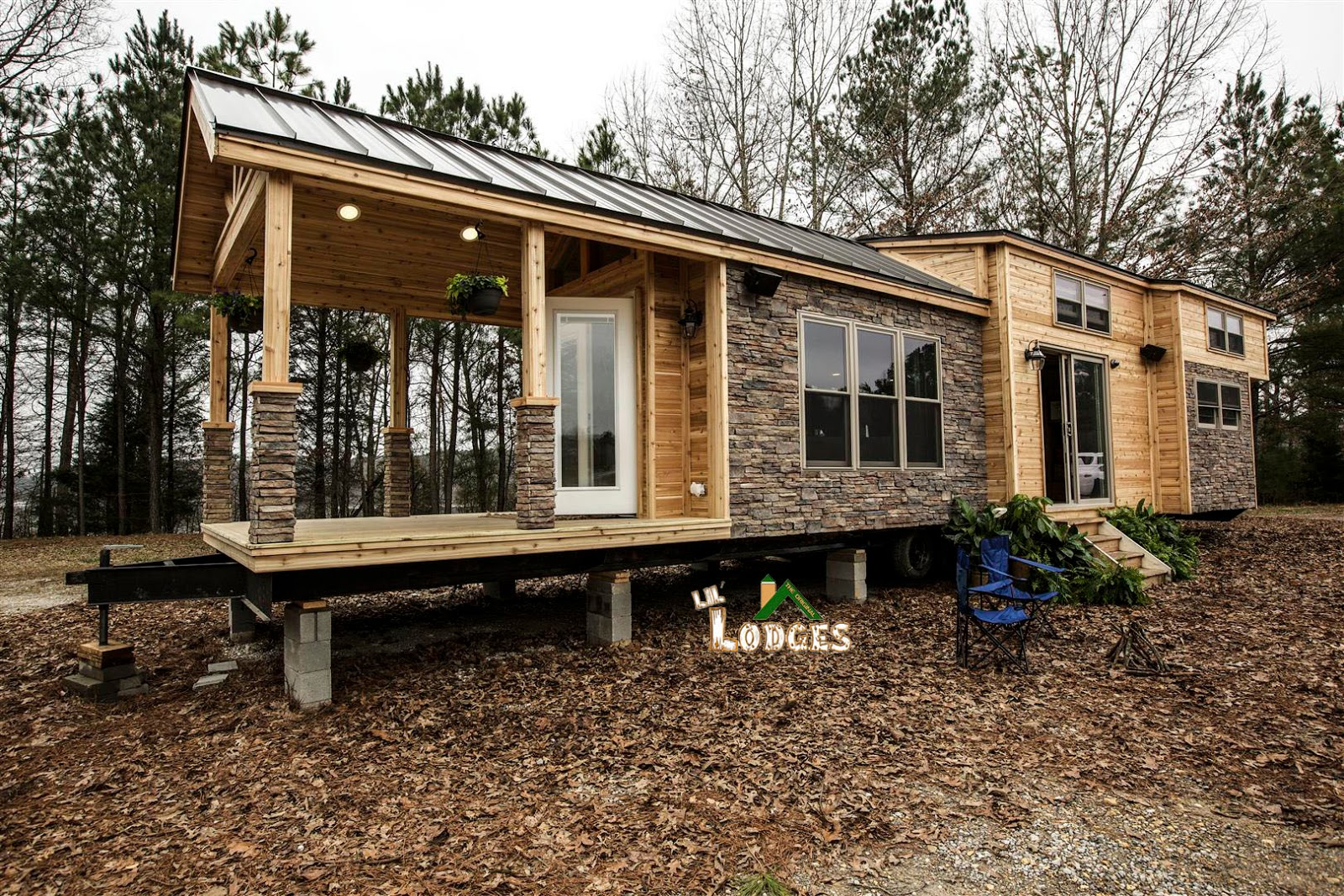 Tiny house town a cozy rv tiny house in cobleskill ny for Two bedroom tiny home