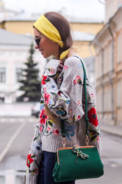 green suede bag Zara