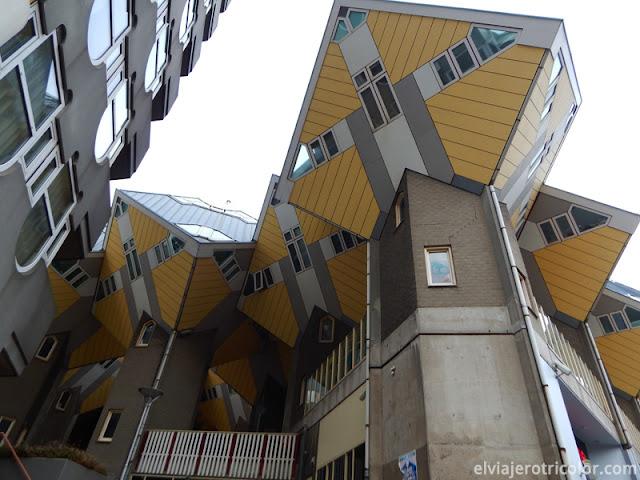 Casas Cubo en Rotterdam