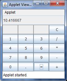Java program to make simple calculator.
