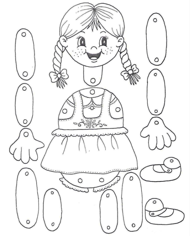 imagens de cara de bonecos para colorir