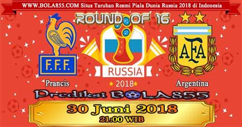 Prediksi Bola855 France vs Argentina 30 Juni 2018