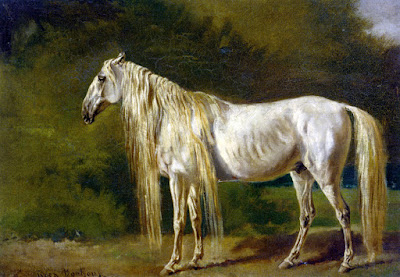 Le cheval blanc de Rosa Bonheur 1879 collection privée