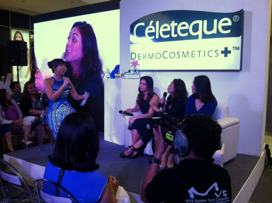 Celeteque DermoCosmetics Launch: Makeup and Skincare in One