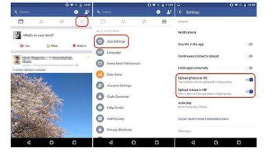 Tips Menghemat Kuota Internet Facebook Android terbaru