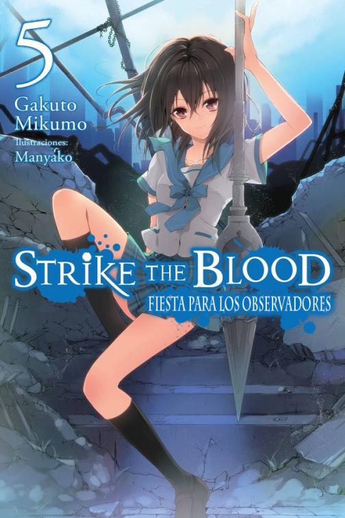 Volumen 5 de Strike the Blood en español