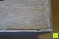 Verklebung: Eurosell Holz Schreibtischorganizer Brief Post Ablage Briefablage Postablage Briefständer Vintage Retro Design Designer Dokumenten Prospekte Ständer