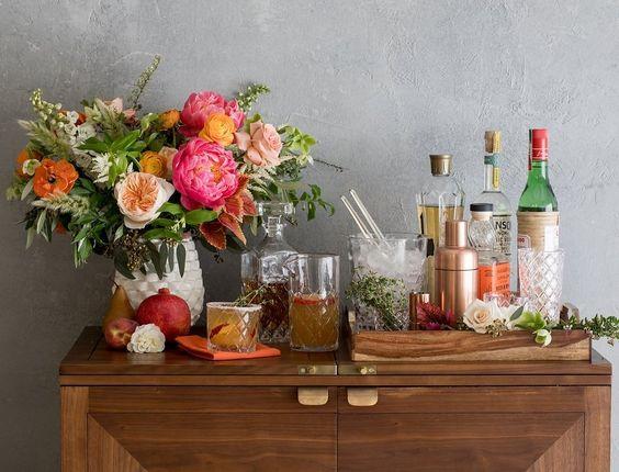 barmaison, barcart,bar-sur-roulettes, minibar, parfait,madamegin,montreal,