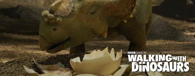 """Walking with Dinosaurs"" animated filmreviews.filminspector.com"
