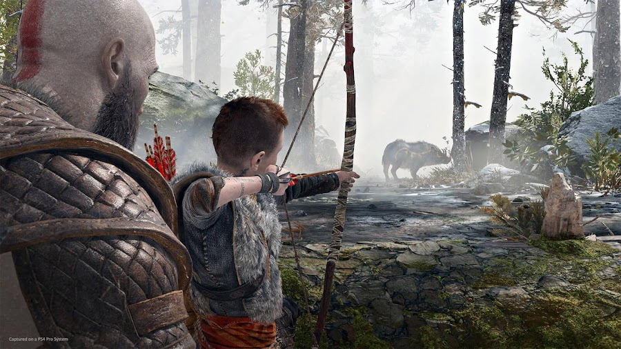 god of war 2018 kratos and atreus