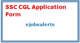 SSC CGL 2017 Application Form
