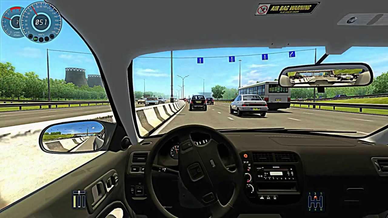 تحميل كراك لعبة city car driving