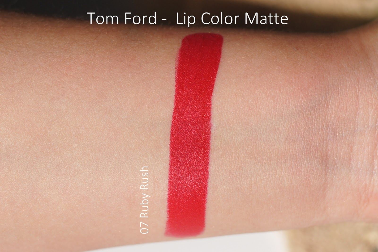 tom ford ruby rush swatches