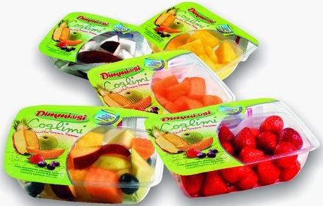 vaschette di frutta