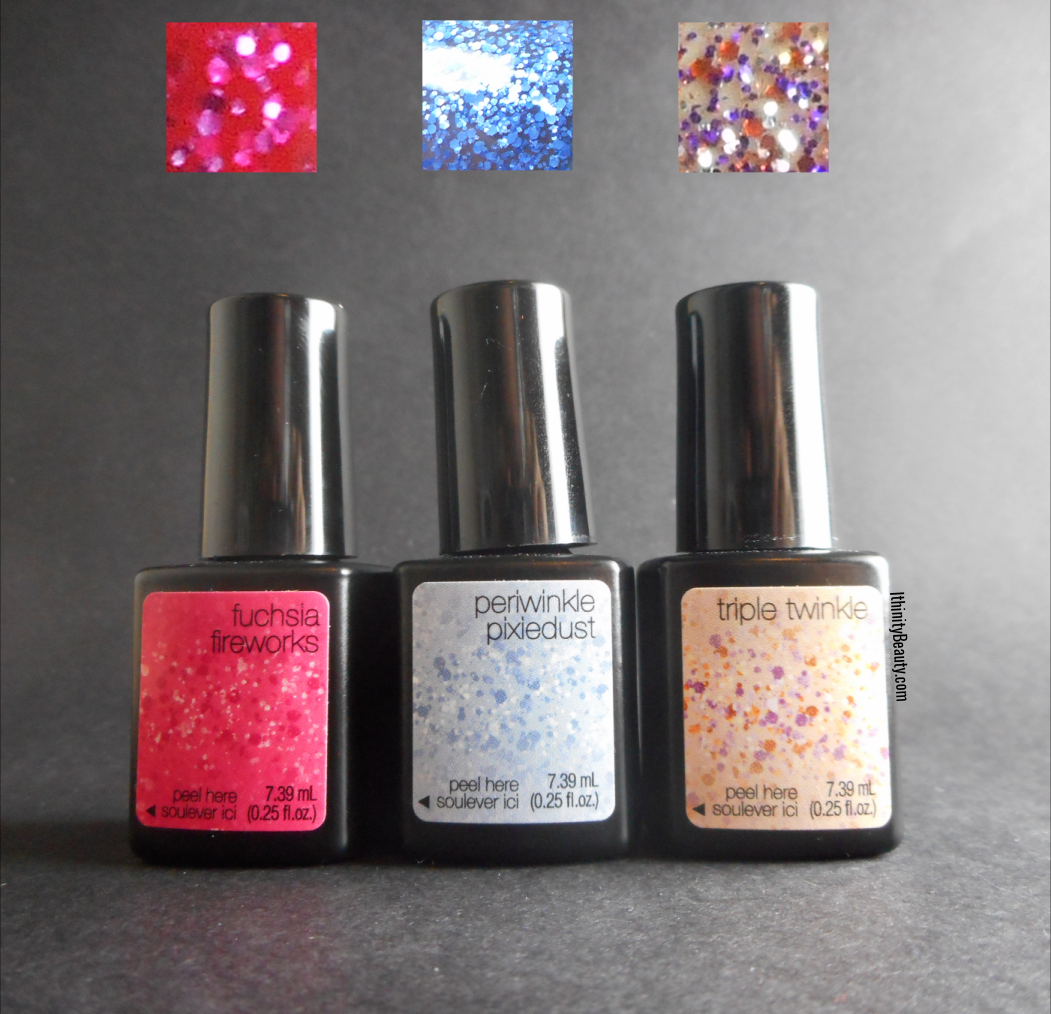 Sensationail\'s Glitter Bomb Gel Polish Review | IthinityBeauty.com ...