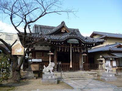 柴島神社拝殿