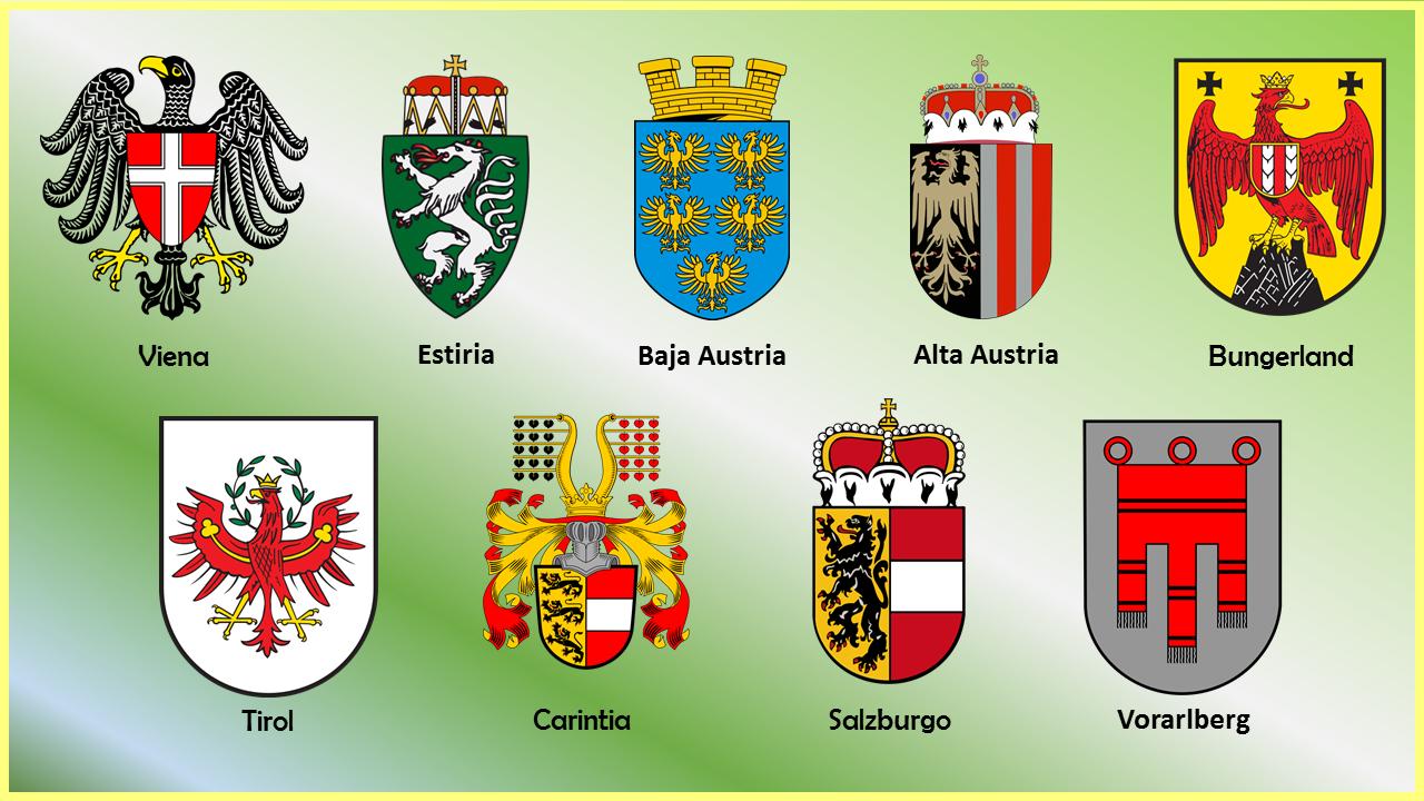 Escudos Estados Austria