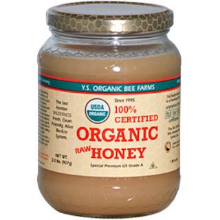 عسل خام عضوي 100% معتمد من اي هيرب  Y.S. Eco Bee Farms, 100% Certified Organic Raw Honey, 2.0 lbs (907 g)