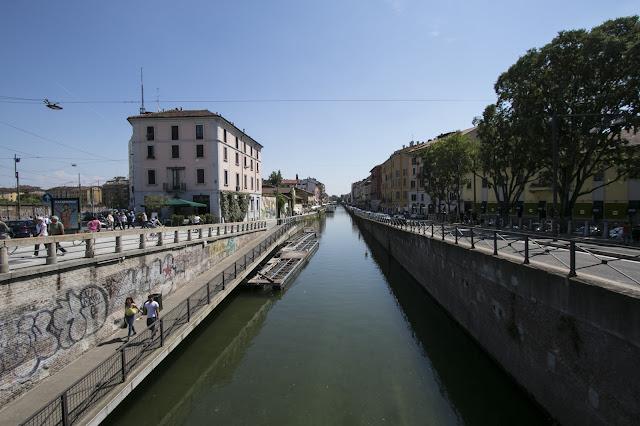 Naviglio grande-Milano