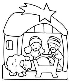 Me Aburre La Religión Colorear Nacimiento De Jesús Para