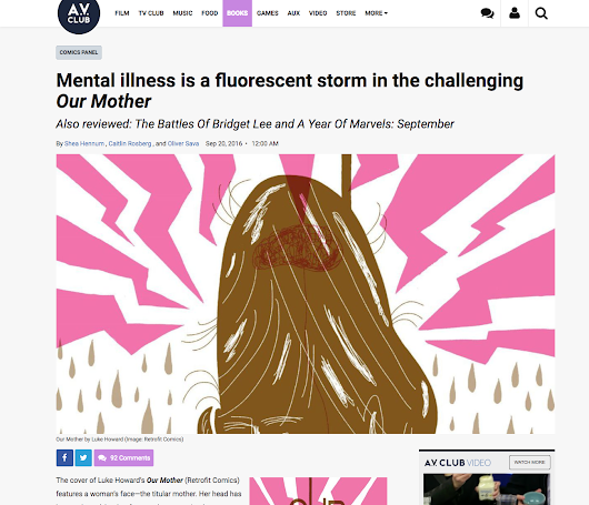 Av Club reviews Our Mother!