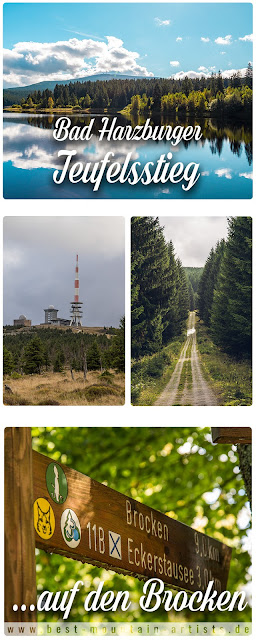 Bad Harzburger Teufelsstieg  Wanderung-Harz  Wandern – Von Bad-Harzburg auf den Brocken  Wandern-im-Harz  Abstieg Goetheweg zum Torfhaus