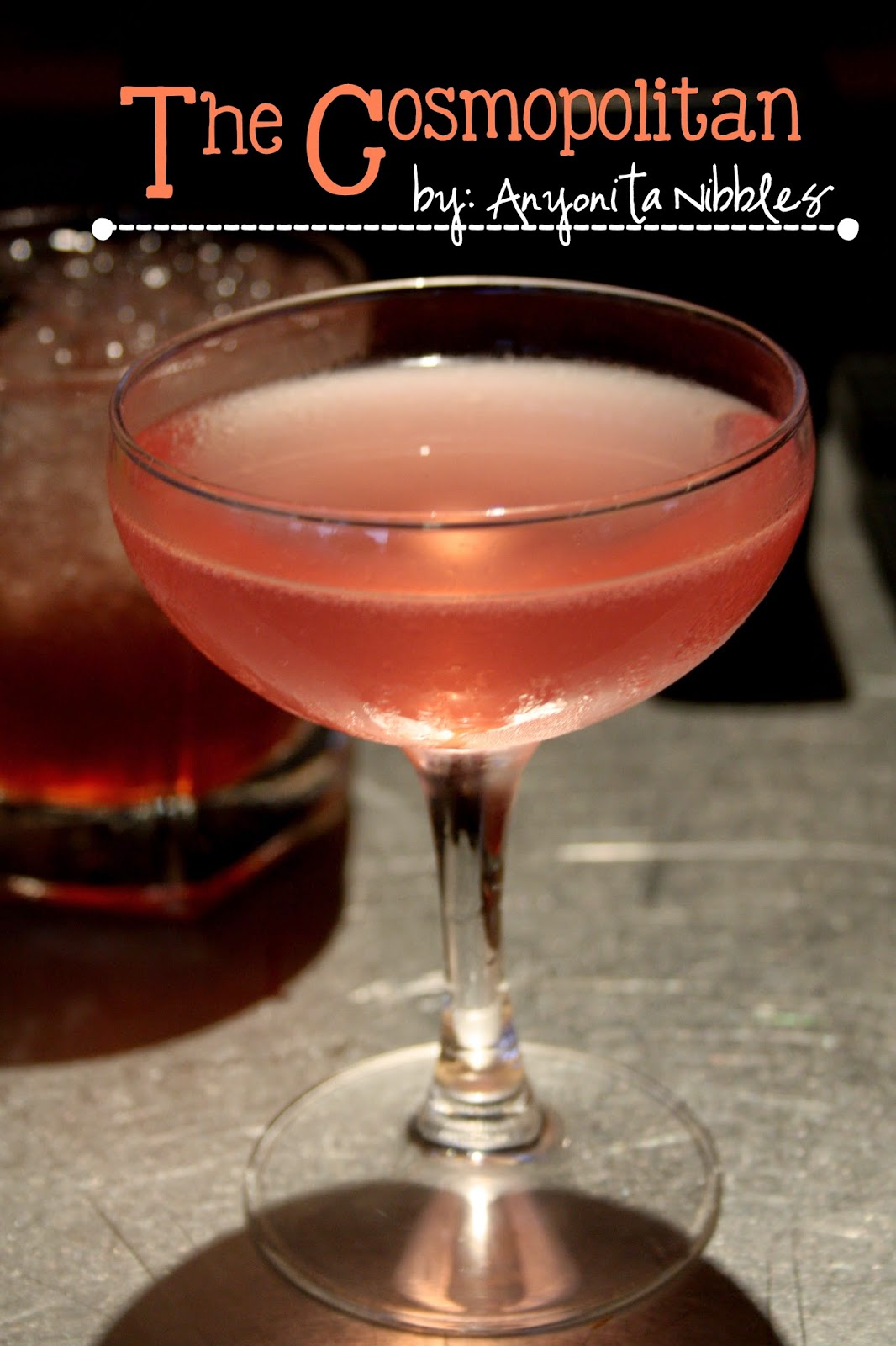 Not just for Carrie & the gang, this Cosmopolitan Cocktail is easy to replicate at home. From Anyonita Nibbles