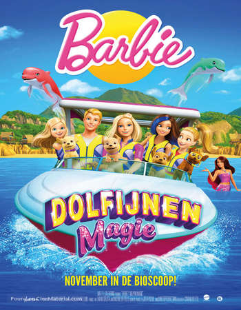 Barbie Dolphin Magic 2017 Hindi Dual Audio WEBRip Full Movie Download