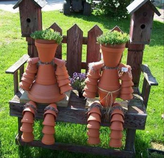 Daily Fun Pics: 19 Do It Yourself Garden Ideas (19 Pics