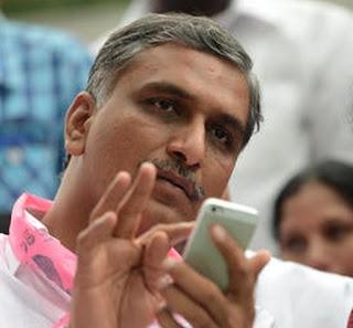 ریت مافیا کے خلاف آہنی پنجہ سے نمٹا جائے گا  :  ہریش راؤ
