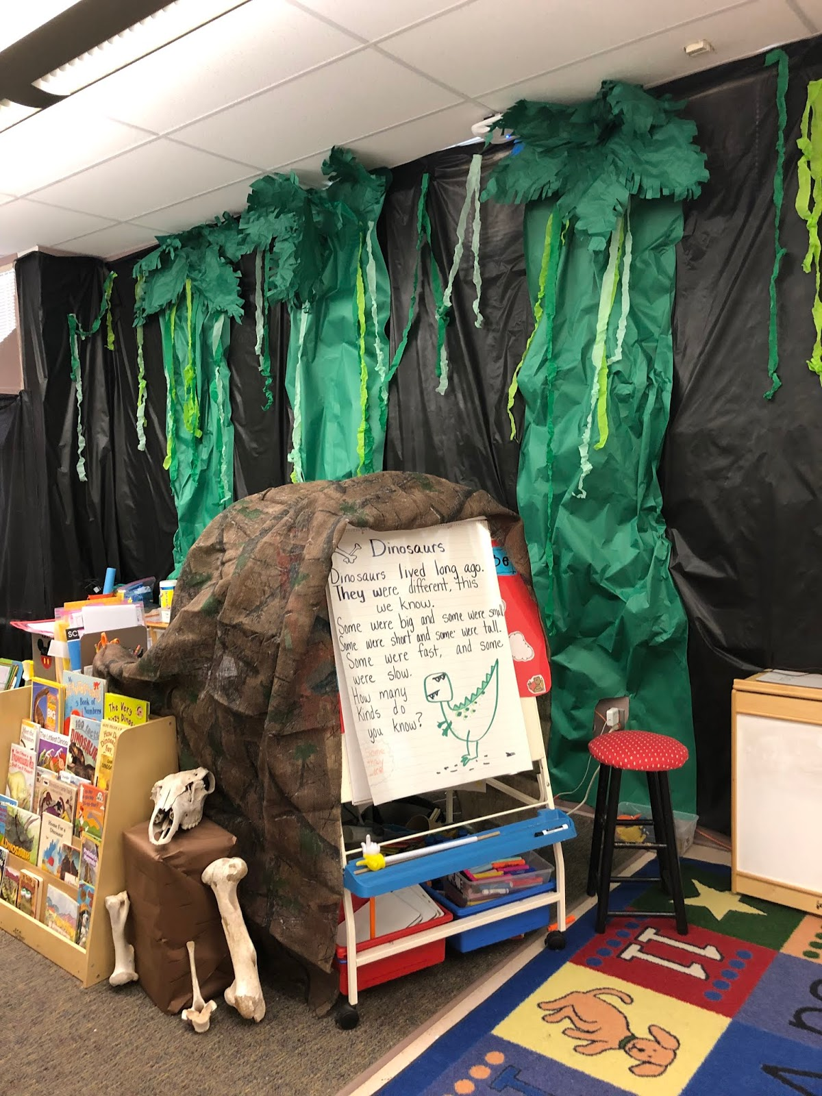 Scissors And Crayons Jurassic Park Classroom Transformation