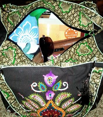 karmabag2 - Instant Karma Embroidered Bag = Instant Love