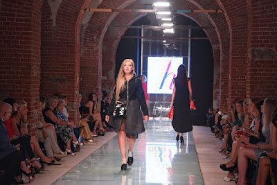 Marina Nekhaeva torino fashion week fotografo