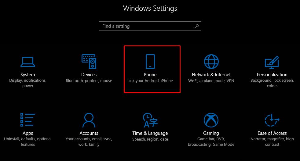 كيف تربط جهاز Android أو iOS بجهاز Windows 10؟   قم بتوصيل الهاتف بـ Windows 10