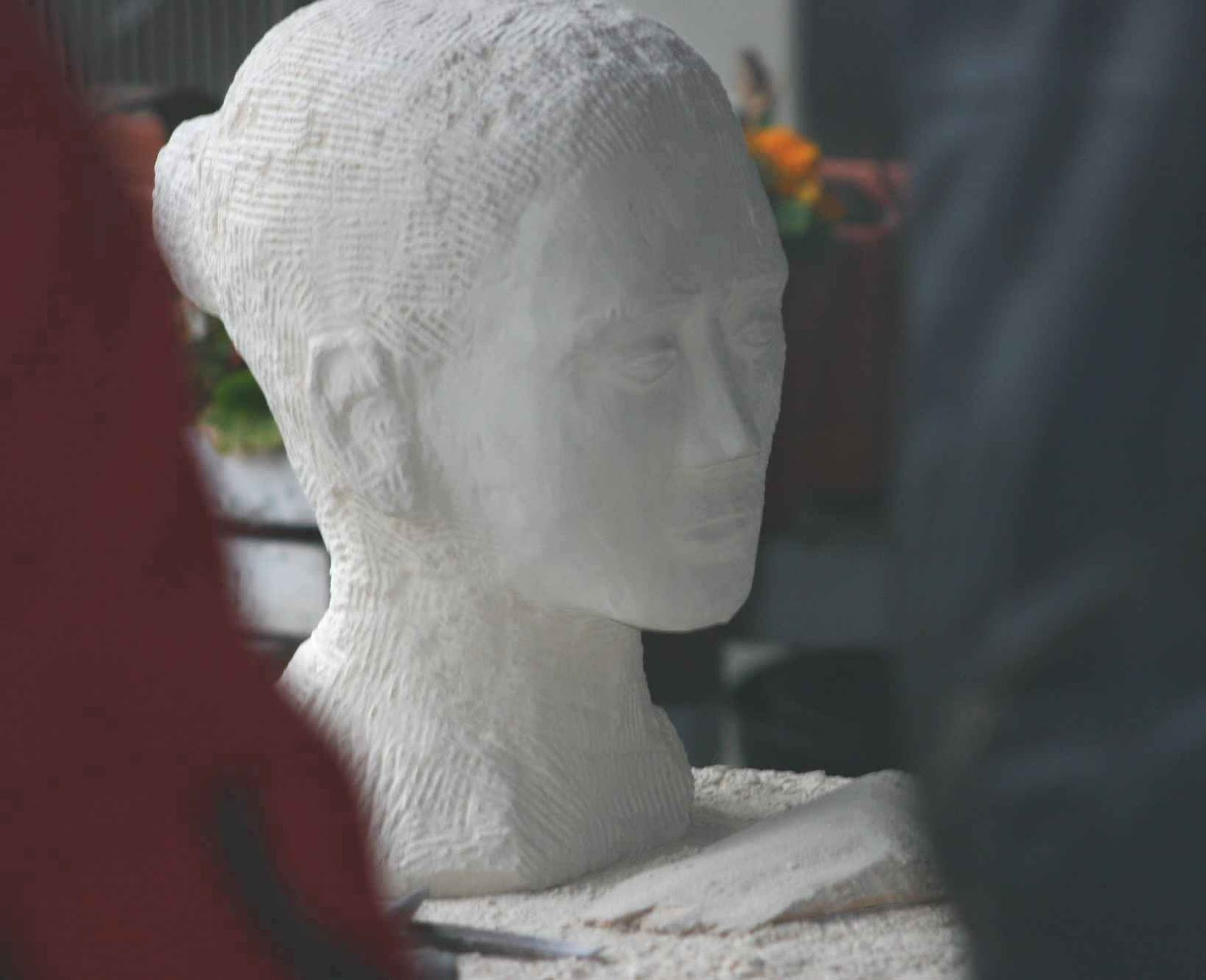 Mary May Carving