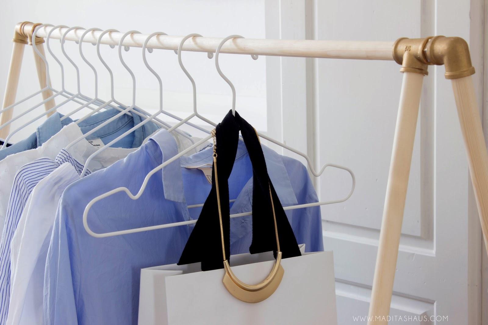 Kleiderstander Aus Rohren Selber Bauen Kleiderstange Fur Wand