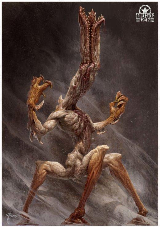 Daniel Zrom artstation arte ilustrações fantasia terror vintage