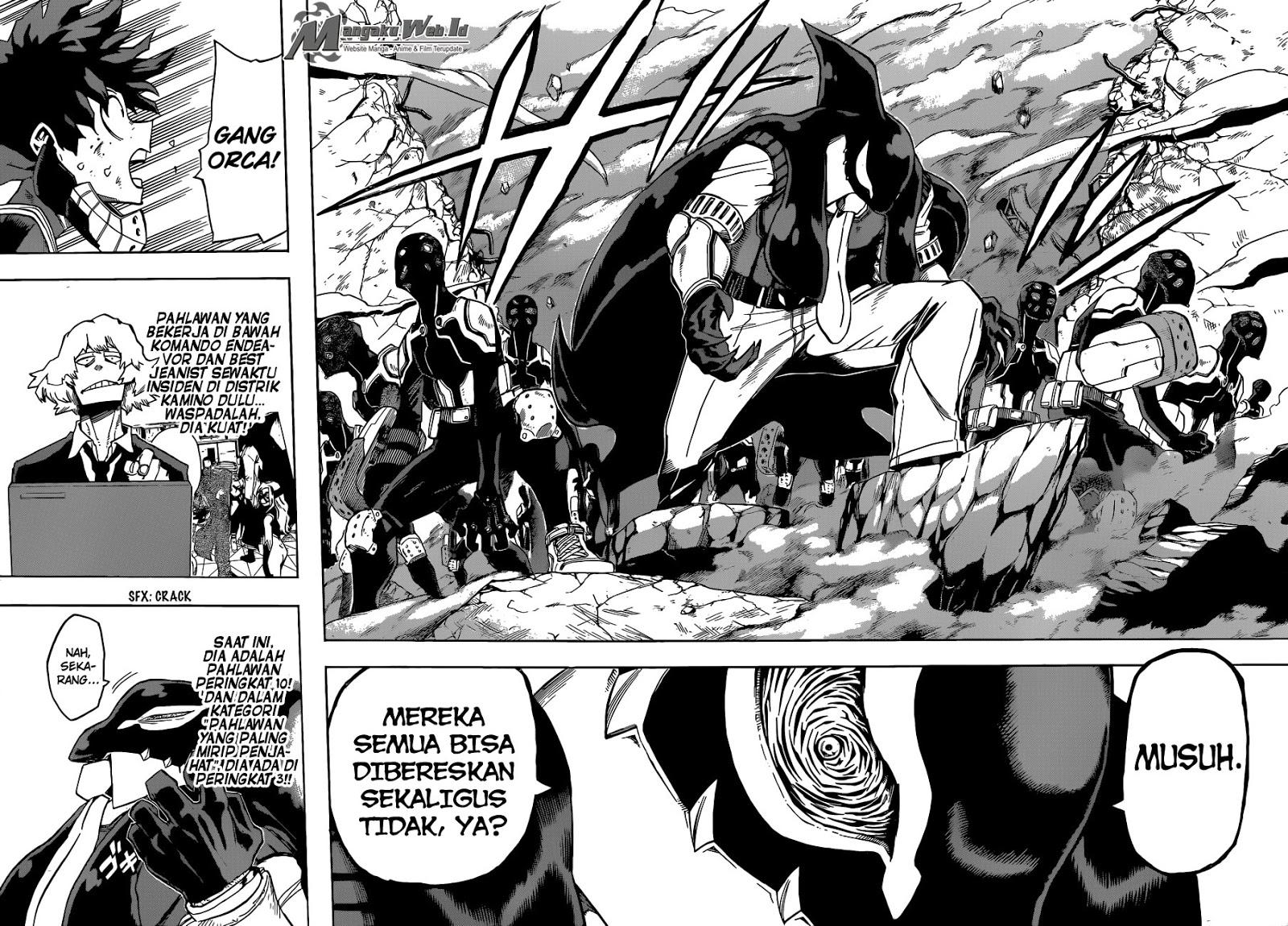 Boku no Hero Academia Chapter 110-15