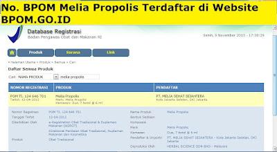 BPOM Melia Propolis